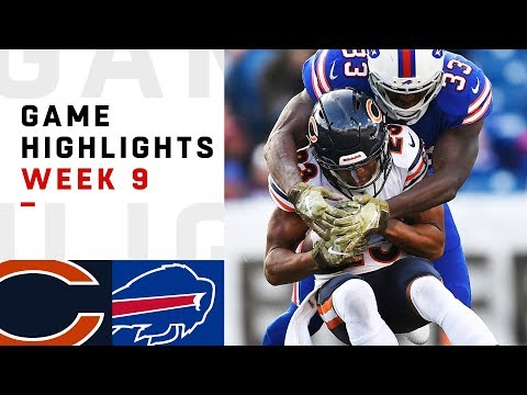 Bears vs. Bills Week 9 Highlights | NFL 2018