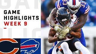 Bears vs. Bills Week 9 Highlights | NFL 2018