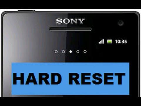 Hard reset sony ericsson xperia play r800i