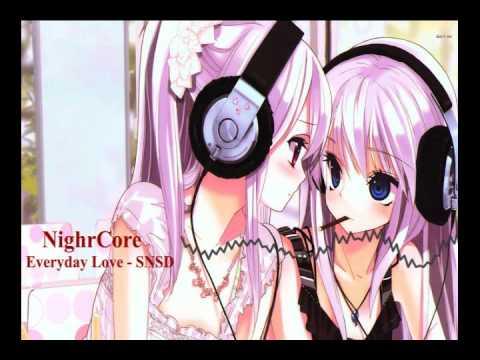 「AMV」Nightcore - Everyday Love - SNSD