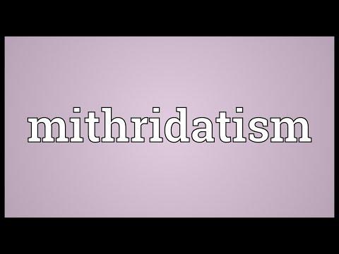 Header of mithridatism