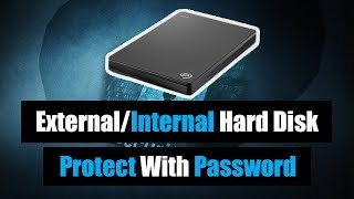 How to Lock External Hard Disk with Password