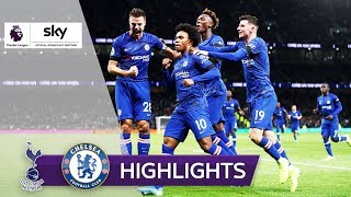 Willian ärgert Ex-Coach Mourinho! | Tottenham Hotspur - FC Chelsea 0:2 | Highlights - Premier League