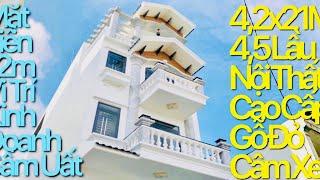 [43]Nhà Bán Gò Vấp.4,2x21m Mặt Tiền 12m Có Lề Đường Ổn Định Kinh Doanh Sầm Uất 3,5L Nội Thất Cao Cấp