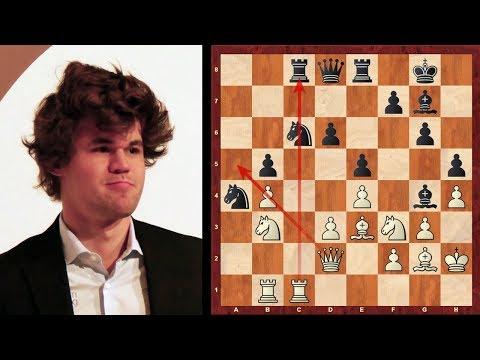 Positional Chess Masterpiece : Magnus Carlsen vs Sergey Karjakin : Sinquefield Cup (2017) : KiA
