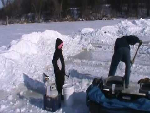 Ice Fishing In South Youtube