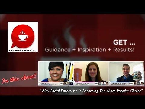 Creative Chat Cafe - Why Social Enterprise Is Becoming The Popular Choice.