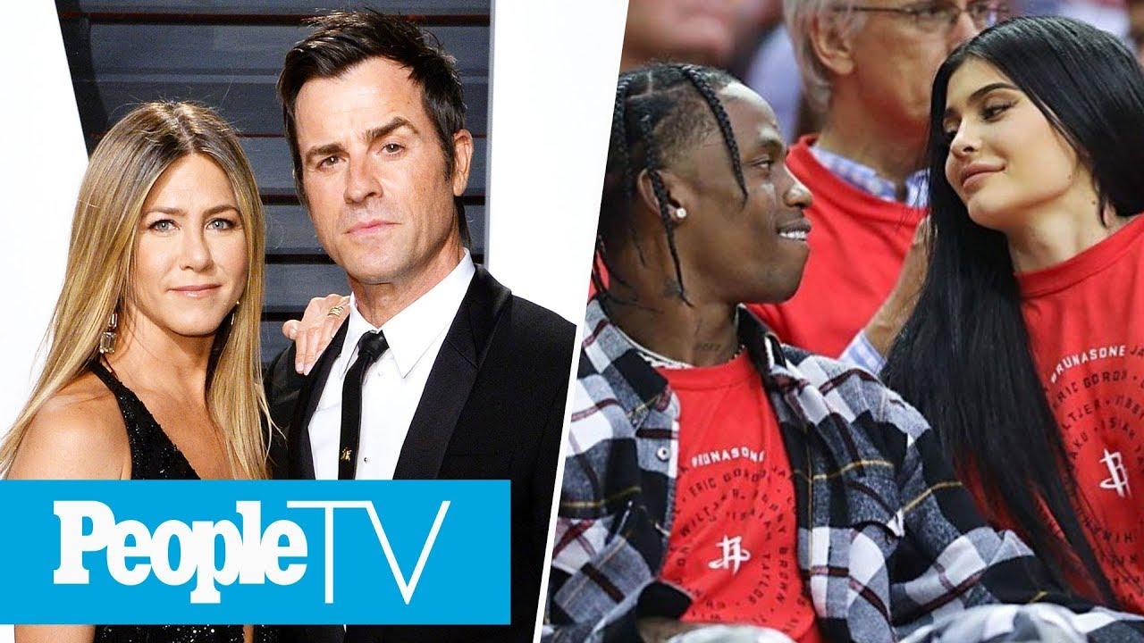 Jennifer Aniston & Justin Theroux Split, Kylie Jenner & Travis Scott Return To Snapchat   PeopleTV