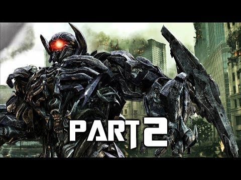 Transformers Rise of the Dark Spark Walkthrough Gameplay Part 2 - Soundwave (PS4)