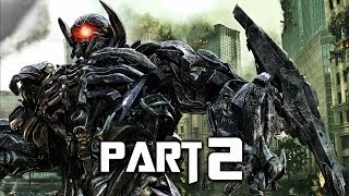 Transformers Rise of the Dark Spark Walkthrough Gameplay Part 2 - Soundwave (PS4)