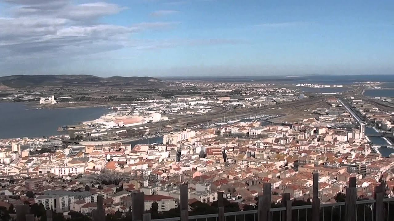 La ville de s te vue du mont saint clair youtube for Piscine fonquerne sete