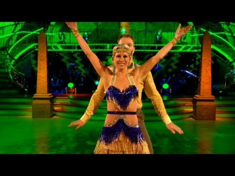Denise Van Outen Charleston's to 'Walk Like An Egyptian' - Strictly Come Dancing 2012 Final - BBC