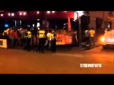 Darwin  security - Knife attack and Assaults
