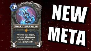 Hearthstone - The Fist of Ra-den Meta