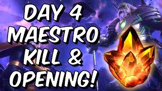 4 Star Crystal Opening & Free To Play Act 4 Maestro Boss 2019! - Marvel Contest of Cham ...