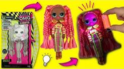 LOL Surprise O.M.G. Lights UV Black Light Surprise Doll DAZZLE Glowing Surprises