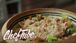 How To Make A Caesar Salad - Recipe In Description