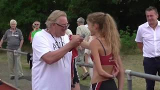 800m Frauen A Lauf + Post-Race Interview mit Konstanze Kolsterhalfen, Laufgala Pfungstadt
