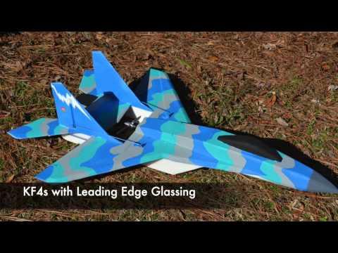 RC Mig-35v2 Wing Load Testing