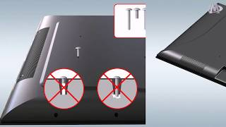 How to Install TV(LED&LCD) Mount MD2377 MD2377 KT of Mounting Dream