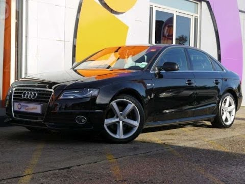 2009 Audi A4 S-Line 2.0TDI 143 Saloon Black For Sale In Hampshire ...