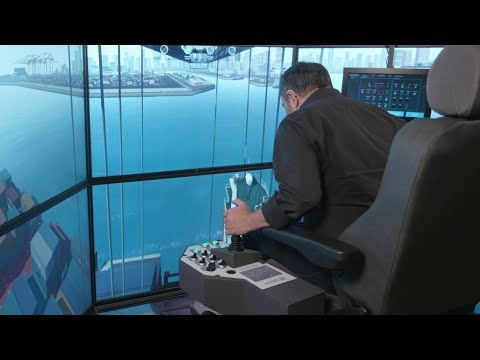STS Crane Simulator | Ship to Shore Crane Simulator | Port Crane Simulator