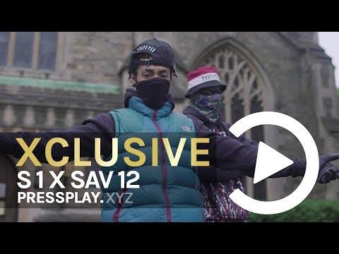 #12World S1 X Sav12 - Menaces 2 Society (Music Video) Prod By SxbzBeatz   Pressplay