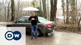 Im Test: Lada Granta | Motor mobil(Der russische Autohersteller Lada ist einerseits riesengroß, andererseits in Deutschland höchsten durch den kernigen Off-Roader Niva bekannt. Jetzt probieren ..., 2016-01-27T09:17:18.000Z)