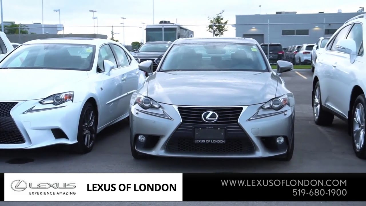 Perfect London, ON   2017 Audi A3 Versus 2017 Lexus CT Hybrid | Lexus Dealer