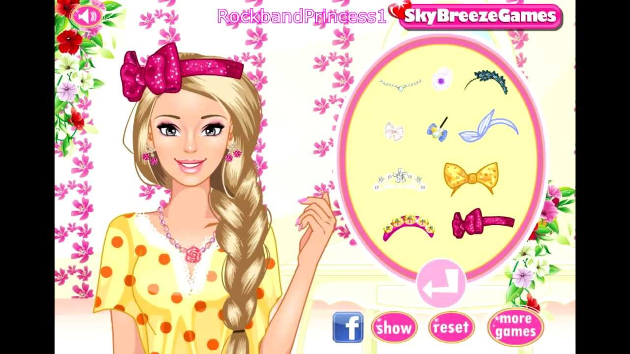 barbie girl games for free online