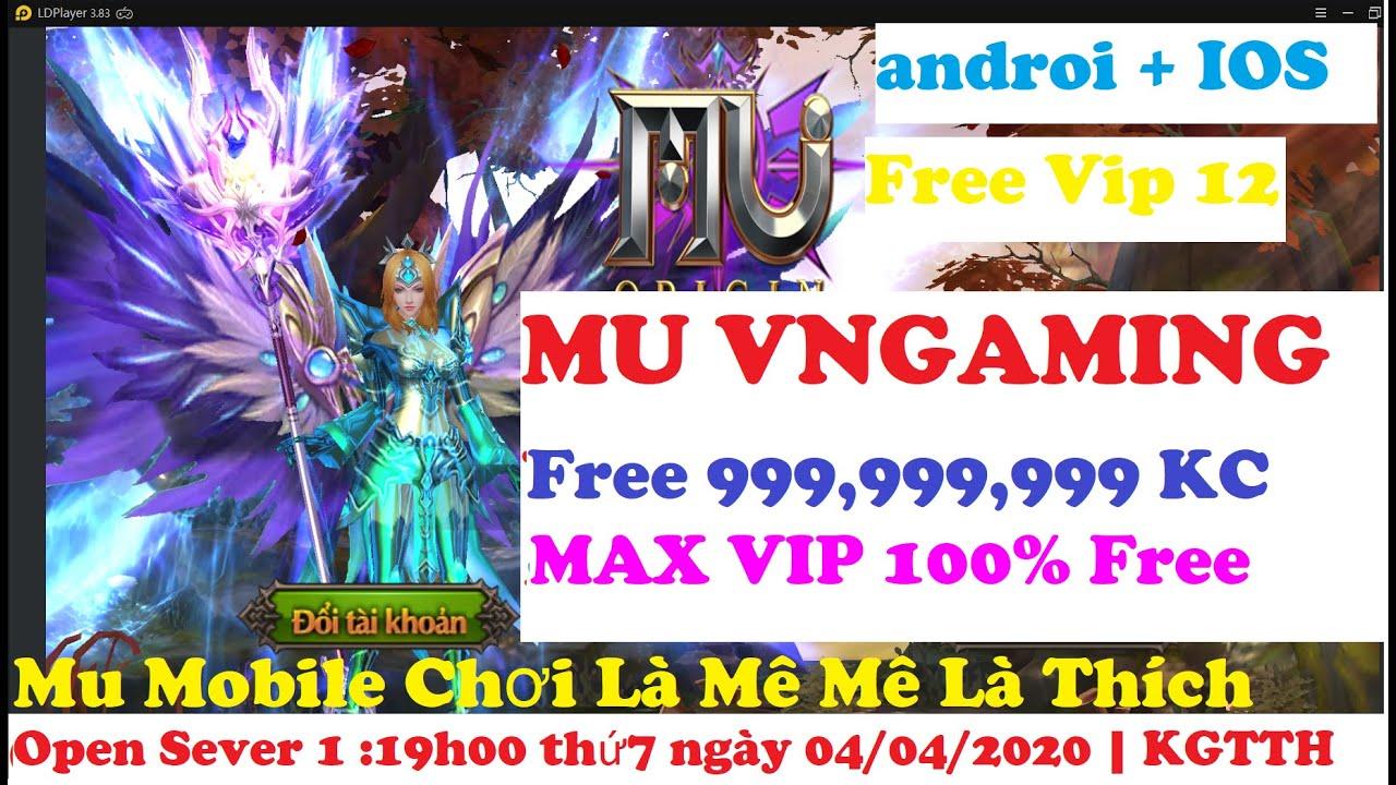 Game Lậu Mu Origin Mobile VNGaming Free Full Vip + 1 Tỷ KC Game Mobile Lậu 2020 Game Lậu 2020