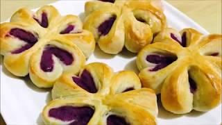 紫薯麵包 | Lindau0026Zoey's Kitchen