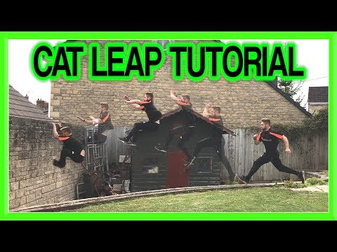 Cat Leap Tutorial (Arm Jump) for Parkour, Free Running, etc | Fraser Malik