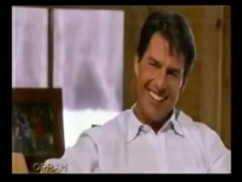 Tom Cruise asked hard questions by Oprah and preaches