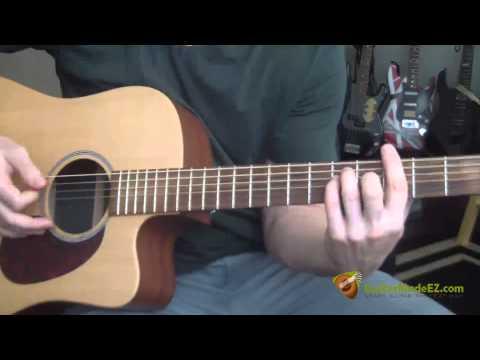 Donovan - Hurdy Gurdy Man Guitar Lesson ( guitar chords, strumming pattern)
