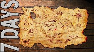 Map 7 Days To Die.A Treasure Map 7 Days To Die 24