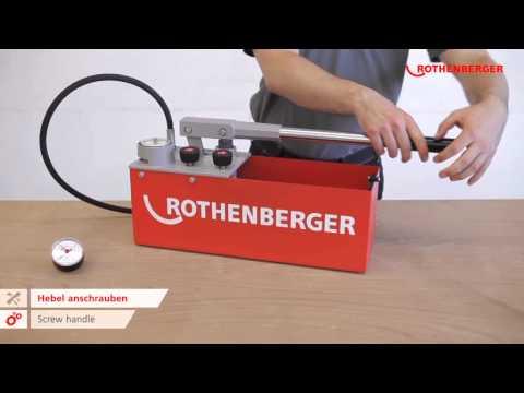 Опрессовочный насос ROTHENBERGER RP 50/ RP 50 INOX