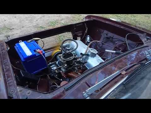 Работа мотора 412 москвич