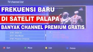 FREKUENSI BARU DI SATELIT PALAPA D MP3