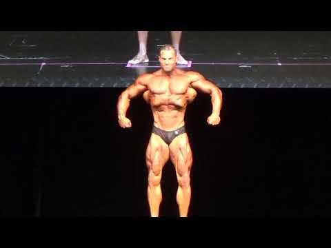 IFBB-PRO-David Hoffmann @ Dennis James Classic -Physique Kür / Routine / Presentation Round