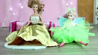 Как сделать одежду для Барби (Barbie,barbie doll). Лайфхаки для кукол. 2 / Видео