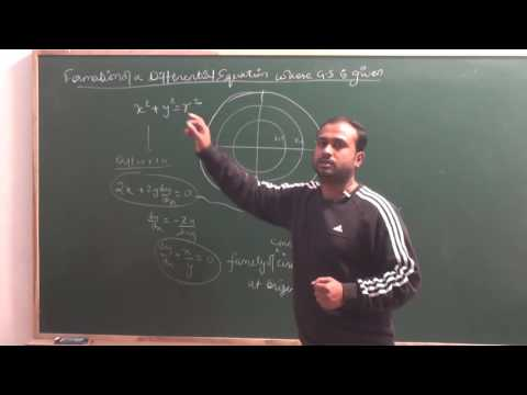 Formation of Differential Equation whose General Solution is given|CBSE 12 Maths NCERT Ex 9.3 intro
