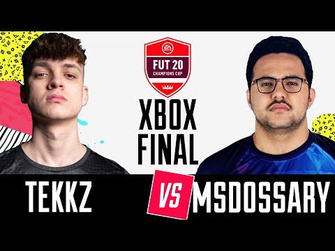 FIFA 20   FNATIC TEKKZ vs TUNDRA MSDOSSARY   FUT Champions Cup Stage IV   Xbox Final