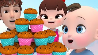 The Muffin Man! ABC Song 라임의 재…