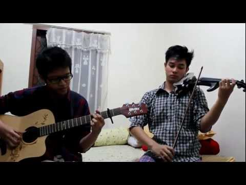 (Acoustic guitar & violin cover) I Heart You by SM*SH - Gilbert & Joshua