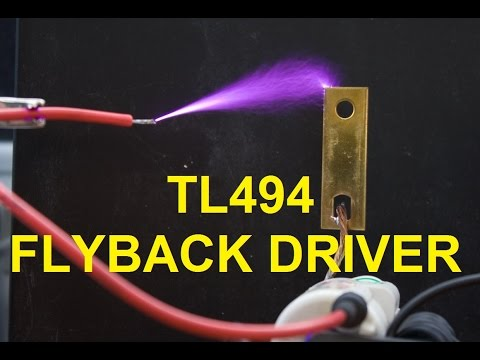 TL494 flyback driver   Kaizer Power Electronics