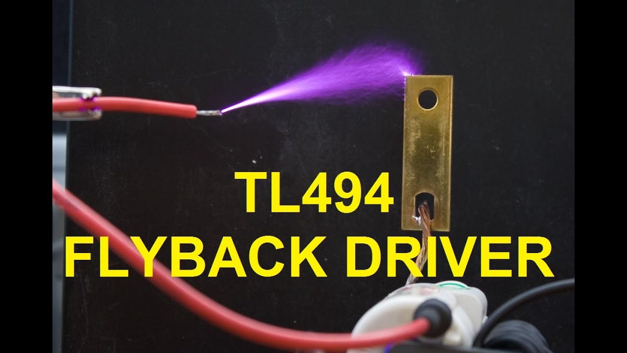 TL494 flyback driver | Kaizer Power Electronics