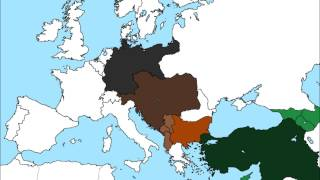 Map of Europe if the Central Powers won World War I