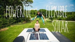 Best RV Upgrade - Powerful Flexible Solar Panels