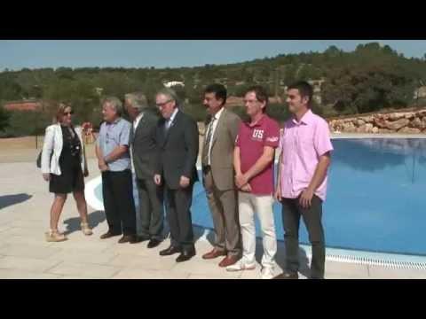 Freginals inaugura la piscina després d'un mes de plena activitat